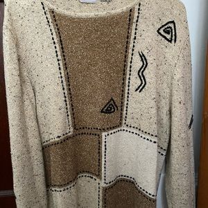 Other - Vintage Patchwork Sweater